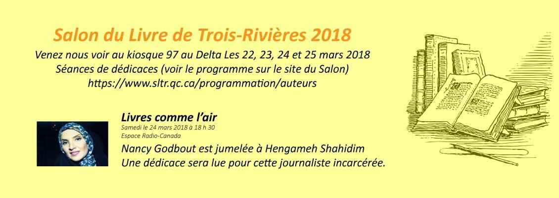 Salon du livre TR 2018